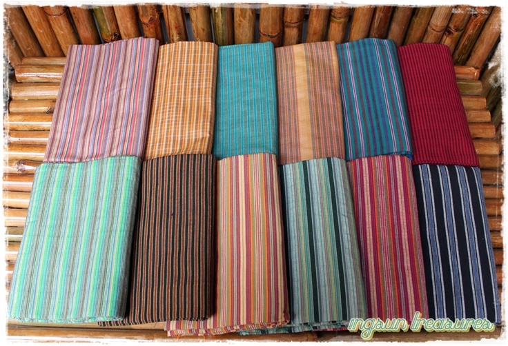 Tenun Lurik, fabric : handwoven 100% cotton, size : 200x120