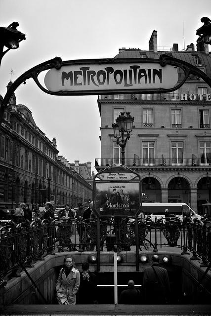 Paris Métro, Art Nouveau stations designed by Hector Guimard in 1900