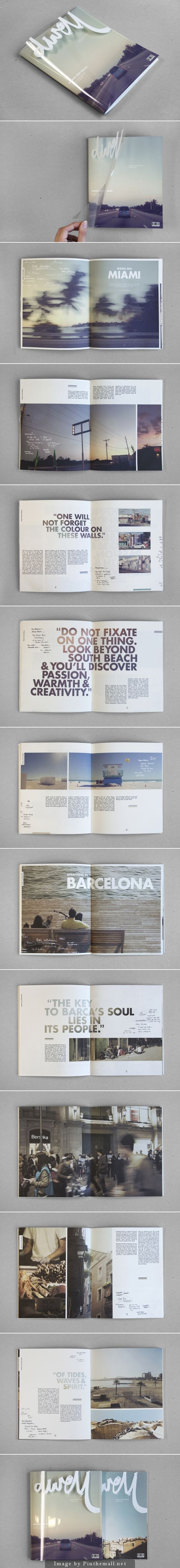 Graphic design for 'Dwell - Coastal Cities Revisited' by Sidney Lim YX