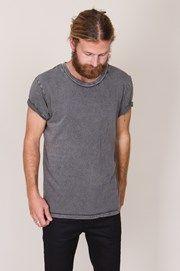 Neuw - 3 Crown Enkel Tee Grey - Herr T-shirts/Linnen
