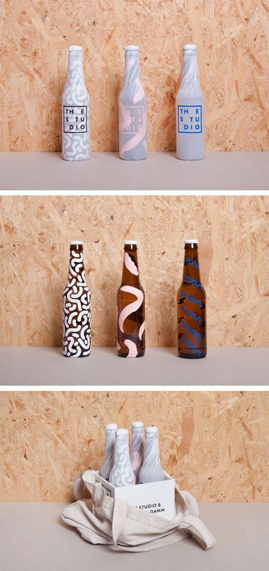 Förpackad -Blogg om Förpackningsdesign, Förpackningar, Grafisk Design » Tv-kanals-öl - CAP&Design - Nordens största tidning för kreat — Designspiration