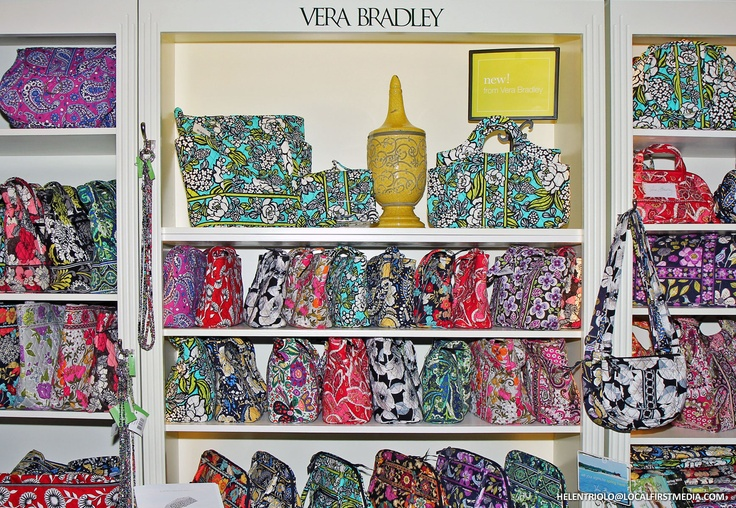 Vera Bradley - absolutely obsessed! I have soooo many things from there yet I always want more!
