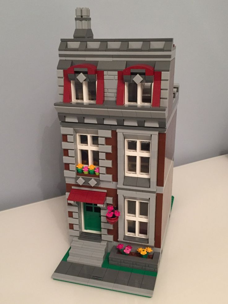 how to build lego modular buildings