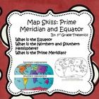 This is just a small portion of my Mega Maps and Geography Bundle  Includes: What is the Equator? What are the Northern and Southern Hemisphere? Wh...