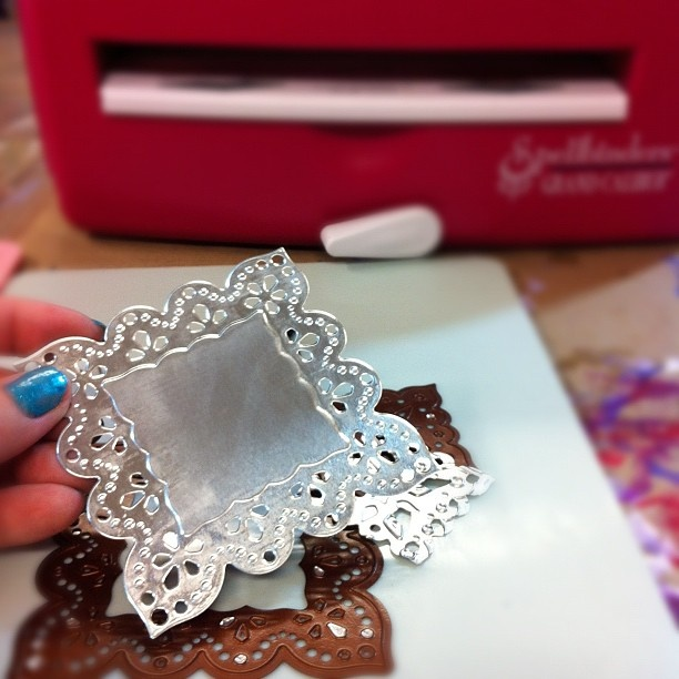 foil sting and embossing machine