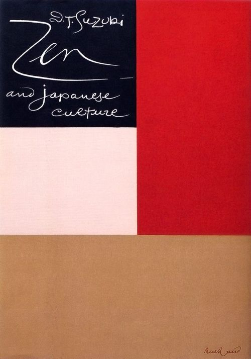 Book Cover – D.T. Suzuki 'Zen and Japanese Culture', Paul Rand.