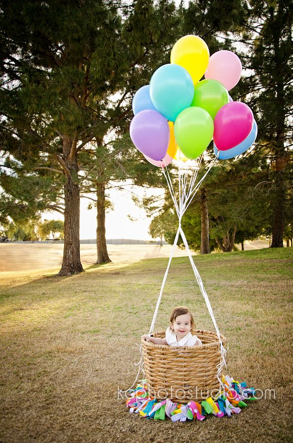 """Gorgeous & Colorful """"hot Air Balloon"""" Inspired Photo Shoot"""