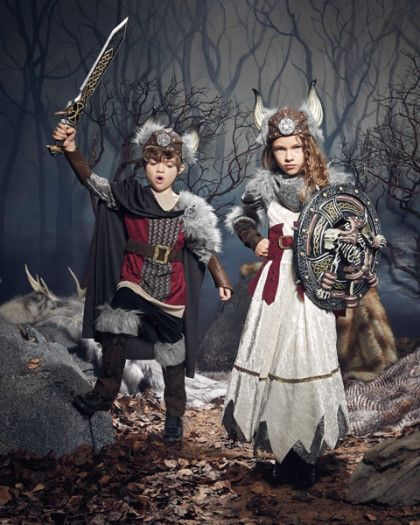 viking boy costume - exclusively ours - As a fearless Viking, you're destined for adventure by land and by sea. #halloween #boyscostume