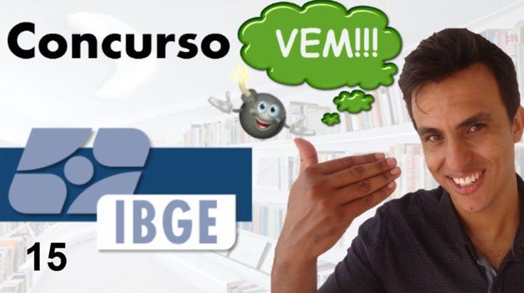 Concurso IBGE 2016 / Aula 15 / Progressões ( P.A e P.G)/ FGV / Matemática