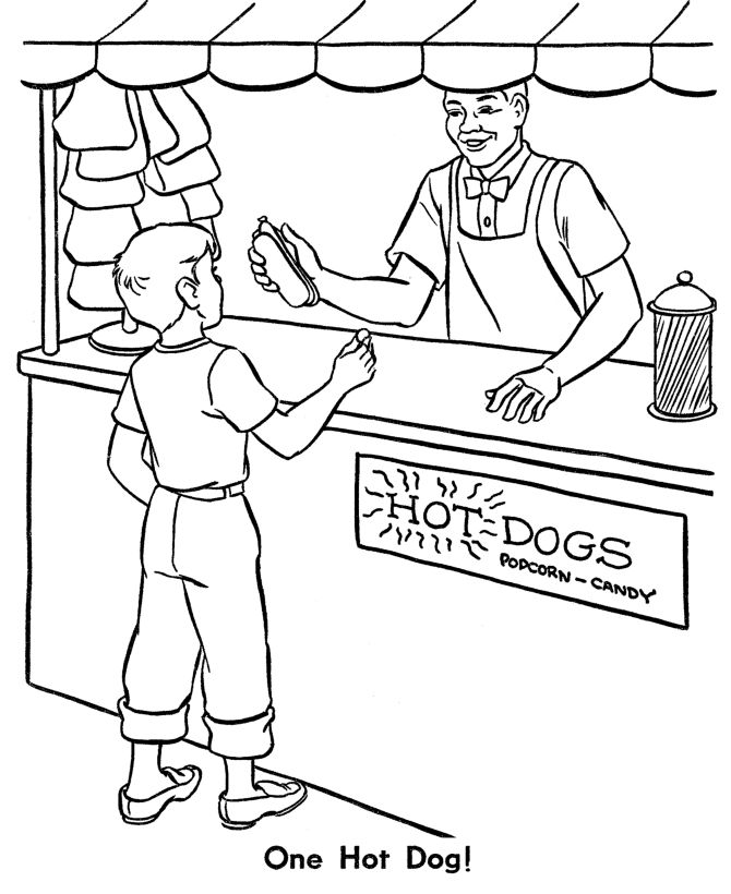 zoo animal coloring page lunch at the zoo