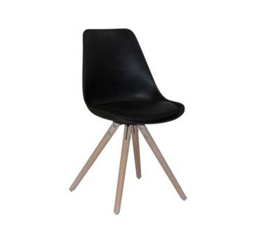 - 4 chaises OSLO noires pour le prix de 3 !