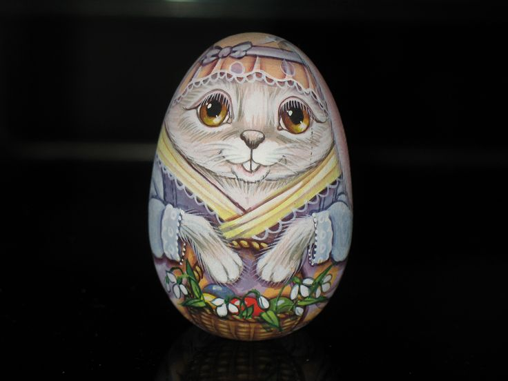 Easter Rabbit Egg Lida's Studio | My Personal Russian Collection ...