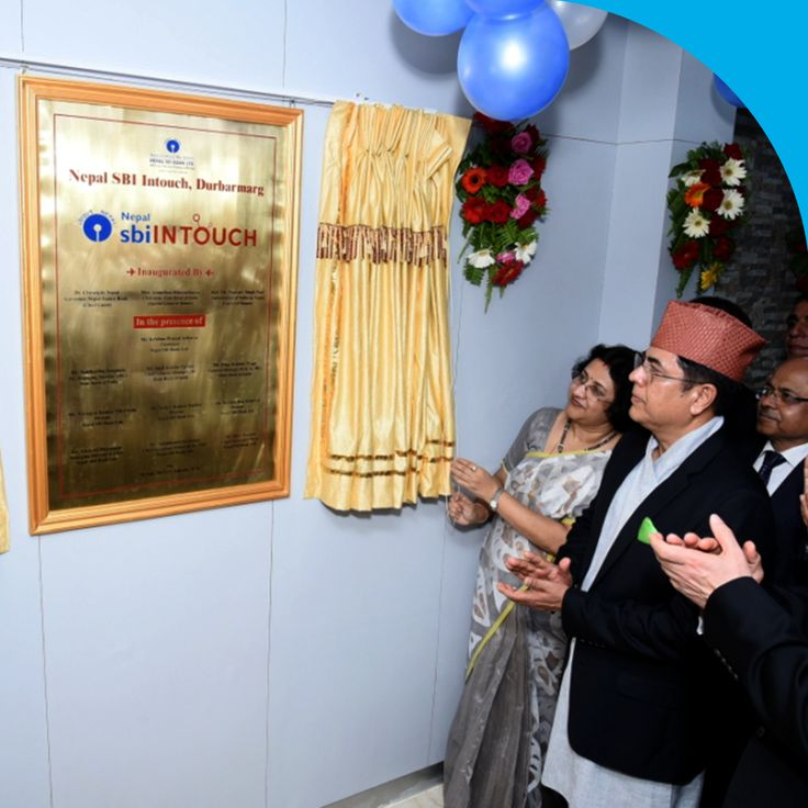 Our first sbiINTOUCH outlet in Kathmandu, Nepal by Nepal SBI Bank Ltd. (NSBL) and SBI being launched by our Chairman Smt. Arundhati Bhattacharya.