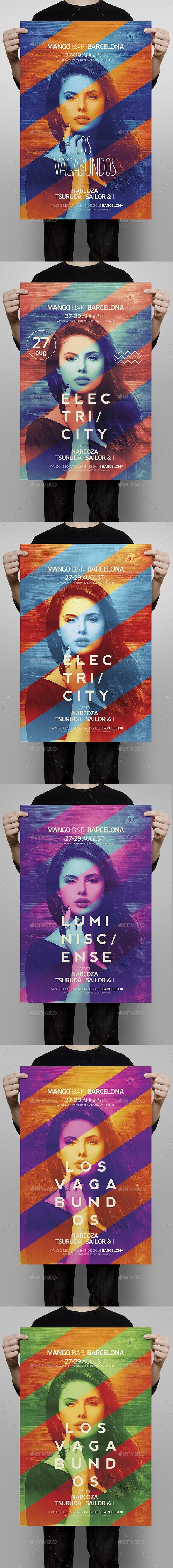 Club Poster Template PSD. Download here: http://graphicriver.net/item/club-poster/15766210?ref=ksioks