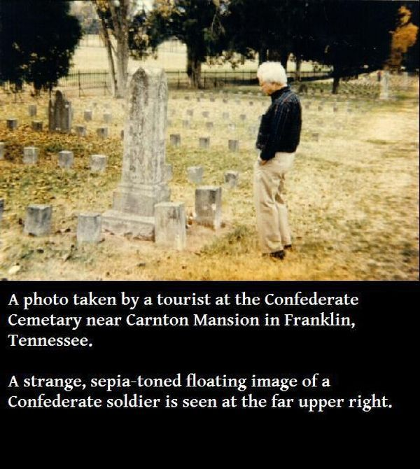 19 Creepy Ghost Photos That Will Give You Goosebumps - Gallery
