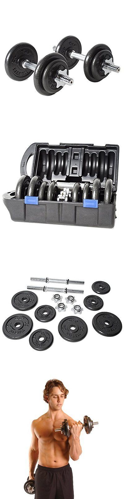 Dumbbells 137865: Cap Barbell 40-Pound Adjustable Dumbbell Set With Case -> BUY IT NOW ONLY: $60.99 on eBay!