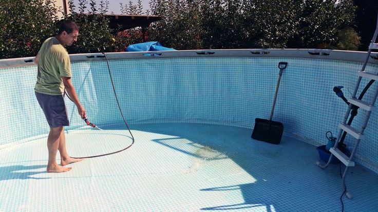 Closing time how to winterize aboveground pools with