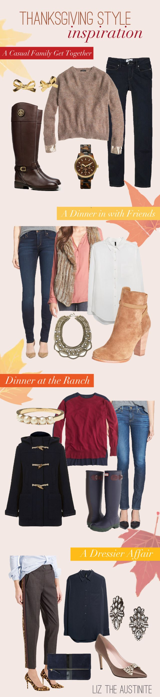 what to wear on thanksgiving #fashion