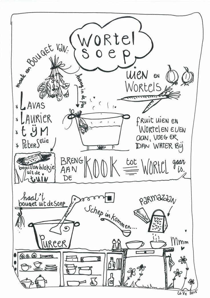 Recept wortelsoep door Lonneke