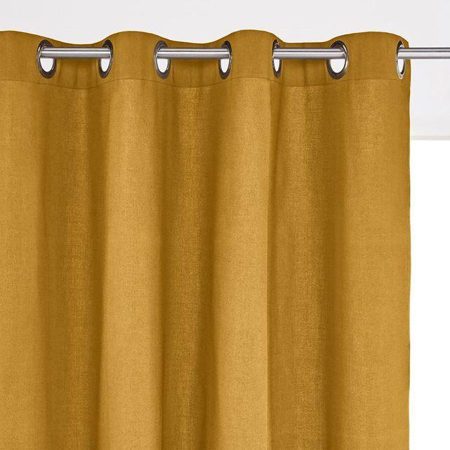 les 25 meilleures id es de la cat gorie rideau moutarde. Black Bedroom Furniture Sets. Home Design Ideas