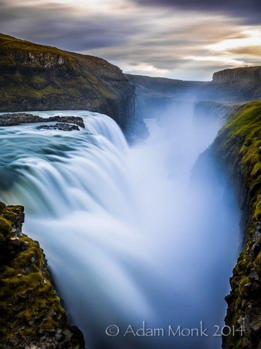 Gulfoss waterfall in #Iceland