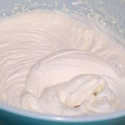 Best White Icing ~ Says: This icing recipe is #1... It's quick and ...