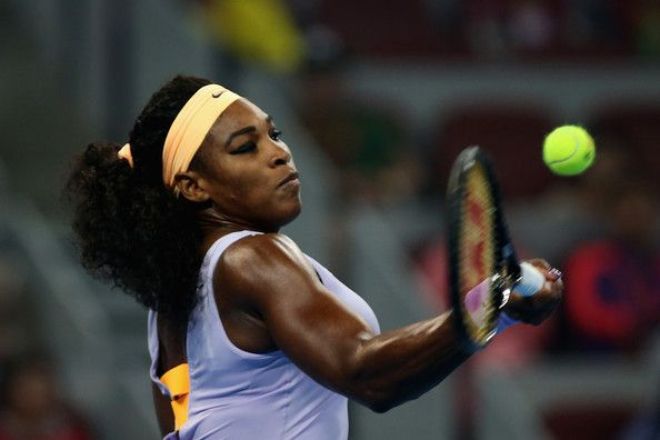 """World #1 Serena Williams Into SFs of the 2013 China Open with straight-sets win over Caro Wozniacki ... Earlier in the week, Serena said this On whether women should play best of 5 in Slams:   """"Well, you know, the top players, the women, we always told the Grand Slams initially that we are willing, ready, & able to play the best‑of‑five if that was what made the difference between, at the time, equal prize money or match scheduling or whatever it took...So, yeah, we're all ready."""" <3"""