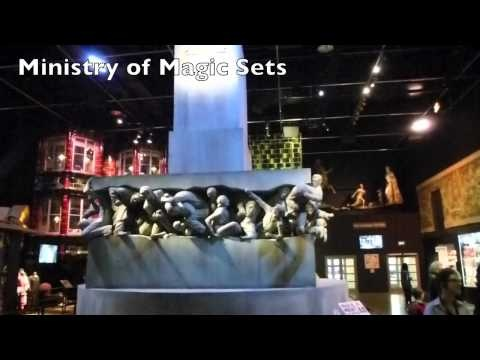 The new Harry Potter Tour : Warner Bros Studios Leavesden London (where films were made)