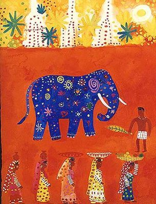 The Holi Elephant's Parade - Christopher Corr