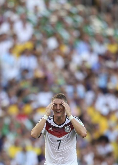 Sebastian Schweinsteiger, WM 2014 Brasilien - Basti still can't believe it