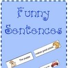 What better way to reinforce reading easy sight words and  CVC words then have the children put the subject and the predicate of a sentence togethe...: Funny Sentences, Sight Words Sentences, Better, Education Ideas, Reinforcement Reading, Sentences Together, Children, Easy Sight, Reading Easy