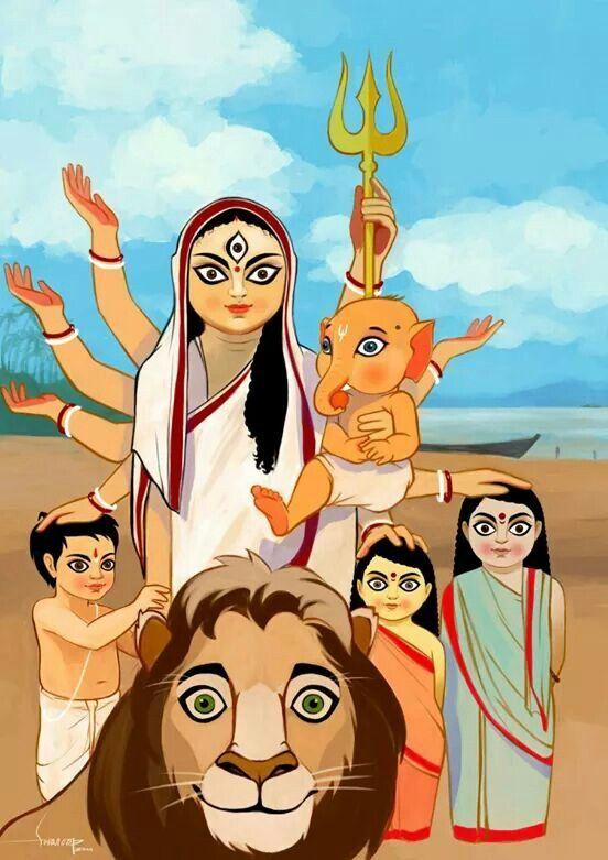 Durga puja by Swaroop Roy