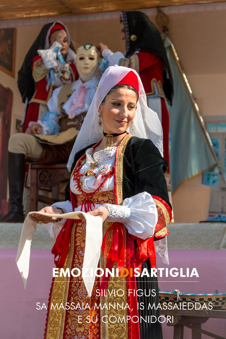Sa Massaia manna, is Massaieddas e su Componidori - Silvio Figus #sartiglia #emozionidisartiglia #oristano