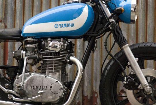 Cafe Racer Design Source Yamaha XS650