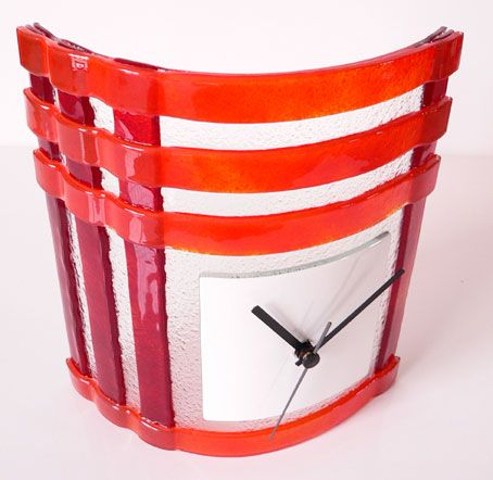 74 best Fused glass clocks images on Pinterest Fused glass