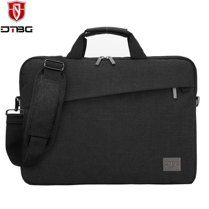 DTBG Business Men 13.3 inch Laptop Briefcase Bag 14 15.6 inch Shoulder Messenger Bags Handbag Computer Case For Macbook DELL HP