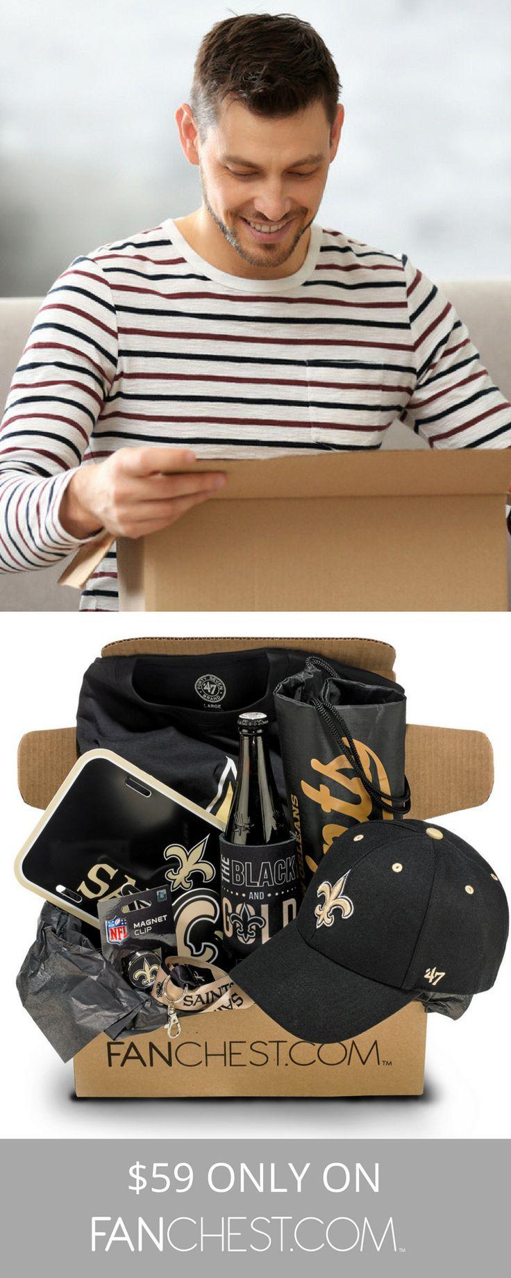 Saints Gear + Apparel + Merchandise - Perfect Gift for Saints Fans!
