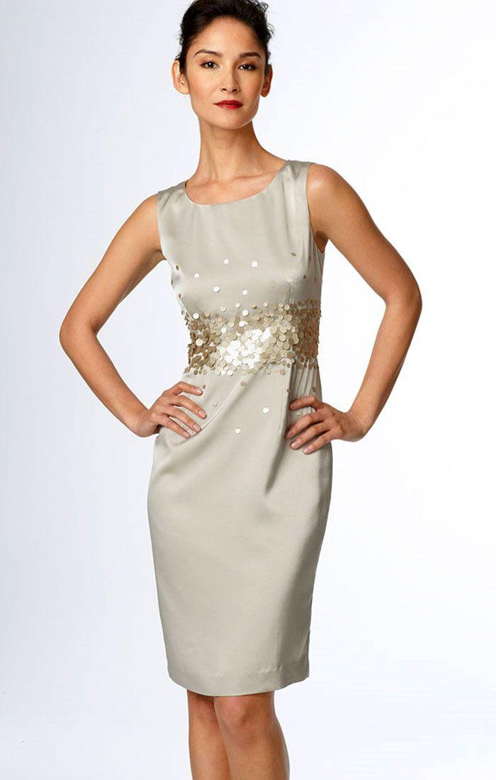 Cheap Cocktail Dresses Silver