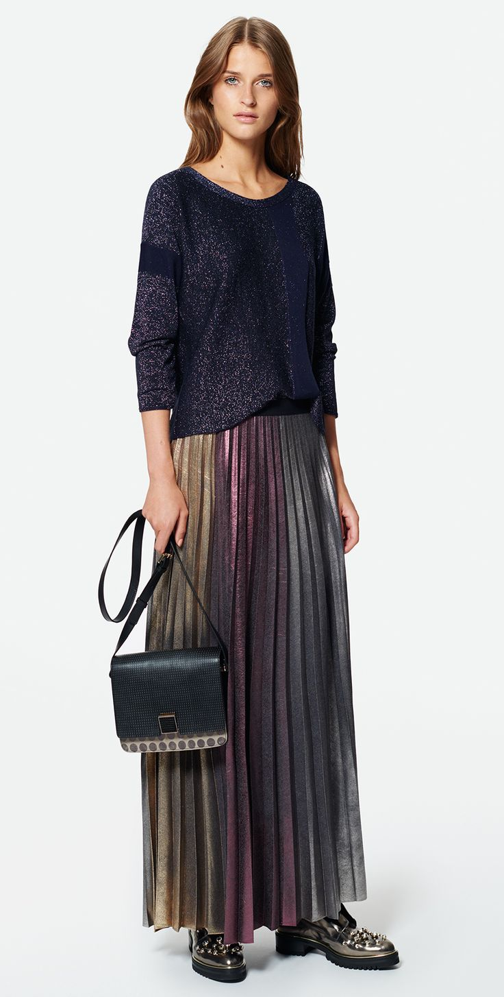 MAX&Co. SS 2016 Sweater PIOGGIA Skirt PORTOFIN Cross Body Bag ABISSO