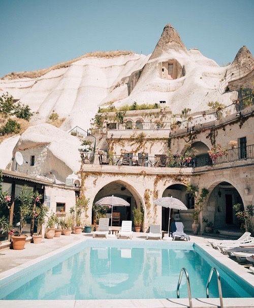The Cave Hotels of Göreme, Cappadocia, Turkey