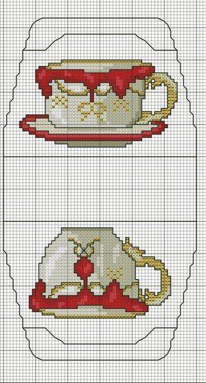 Схемы вышивки крестом для сумочки игольницы