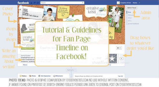 A quick tour around the new Facebook fan page timelines as well as IMPORTANT guidelines for bloggers and businesses! (Hint: you can not use your cover photo for certain things!): Facebooki Timeline, Facebook S Timeline, Post, Facebook Timeline, Fb Timeline, Place, Business