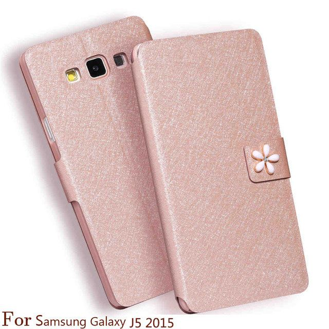 Case For Samsung Galaxy J5 2015 Cover Black cover Case For Samsung Galaxy J5 2015 PU Leather phone case For Samsung J5 J500M #Affiliate