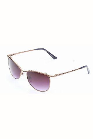 Del retro al futurismo en 25 gafas de sol. Gafas con montura fina metálica de Multiópticas (c.p.v.).