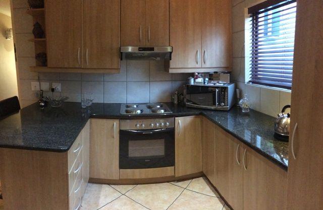 Modern Kitchen with granite tops