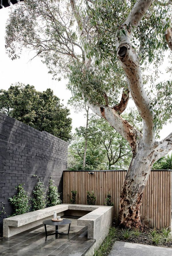 It's what Australian architects seem to do so well. The extension, the addition to an old house...