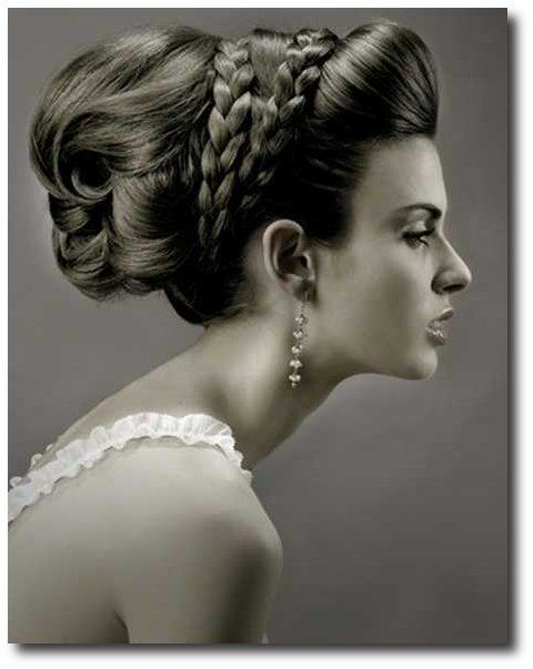 Bridal Hair With a Double Braided Headband From Indians Shaadi Blog