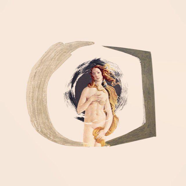 A unique design to celebrate the birth of Sandro Botticelli. #HERSE #art #sandrobotticelli #botticelli #bornonthisday #italianpainter #renaissance #Aphrodite #takingartout