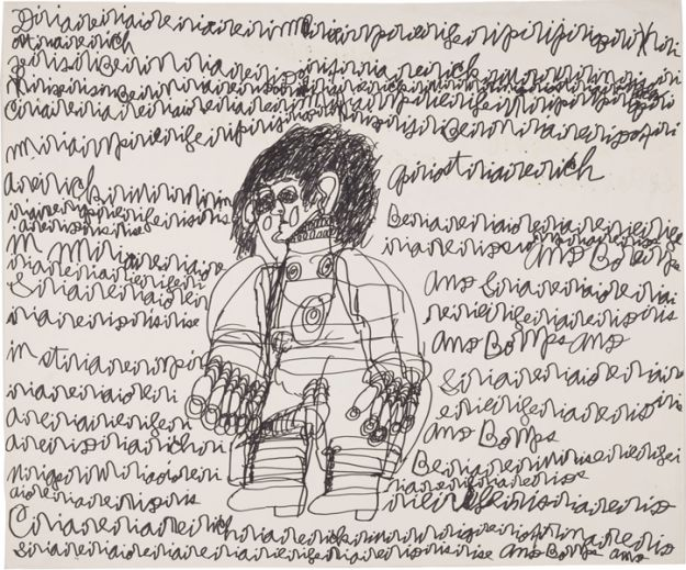 Outsider Art Authors : selection from the Collection de l'Art Brut, Lausanne, Switzerland
