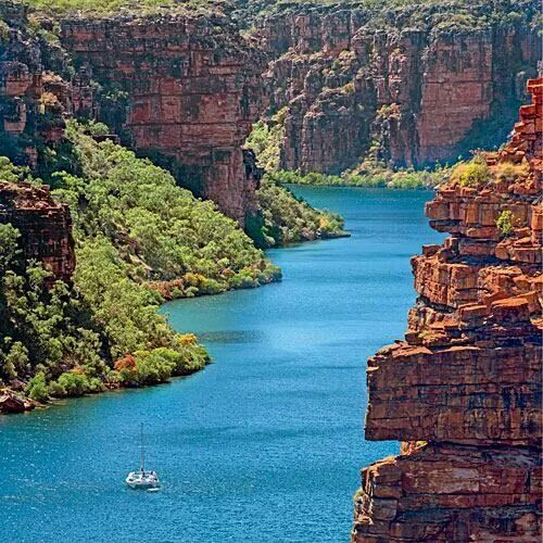 King George River Kimberly Coast Australia